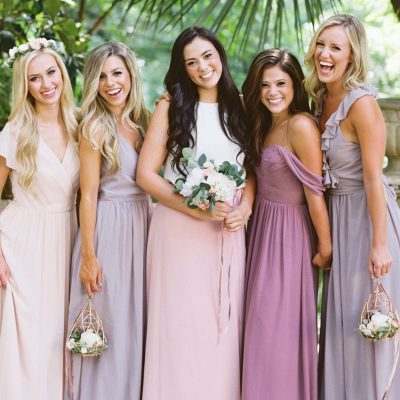 Picking Your Bridesmaid Dresses